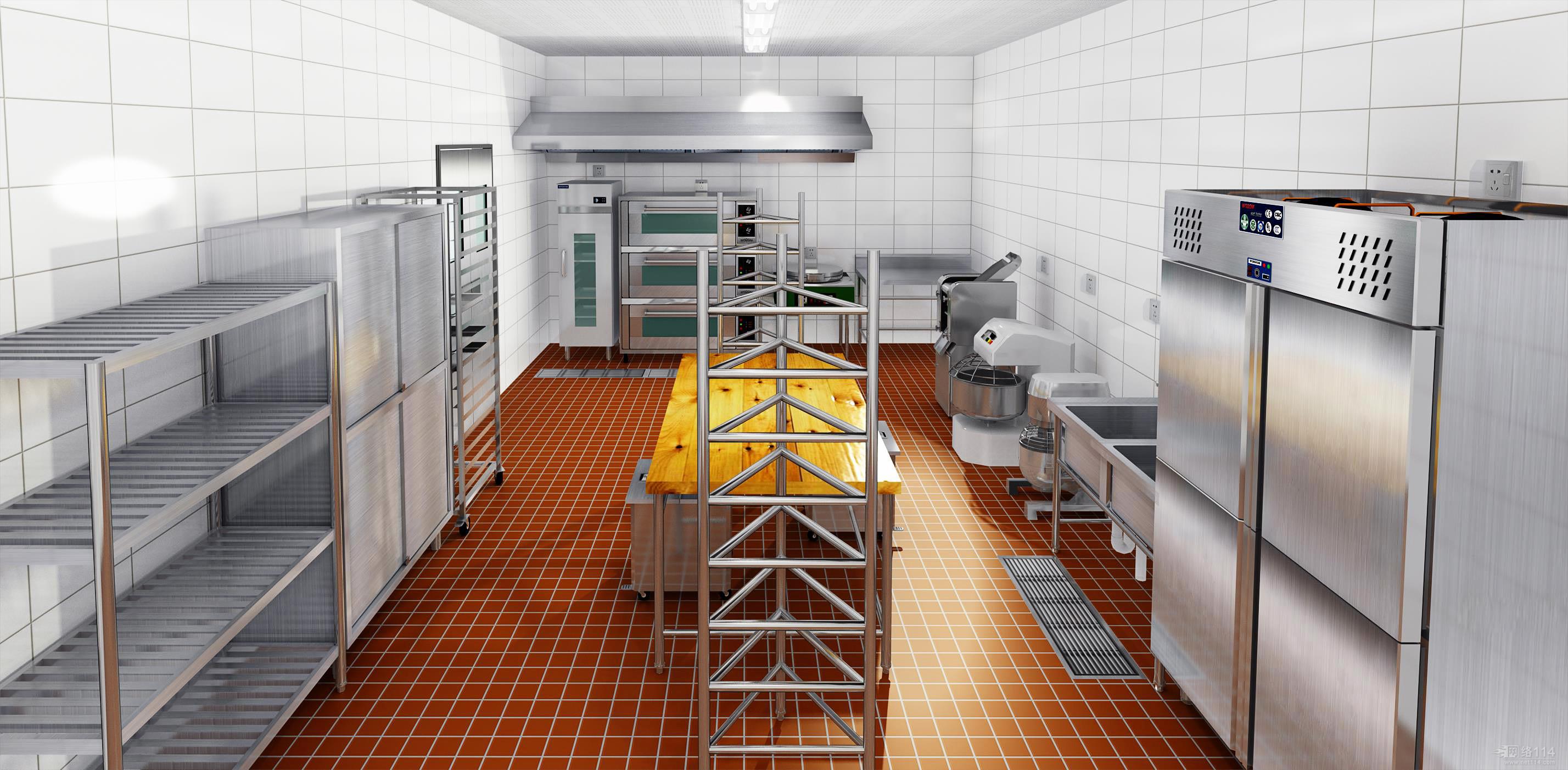 商用厨房设备的分类与安装
